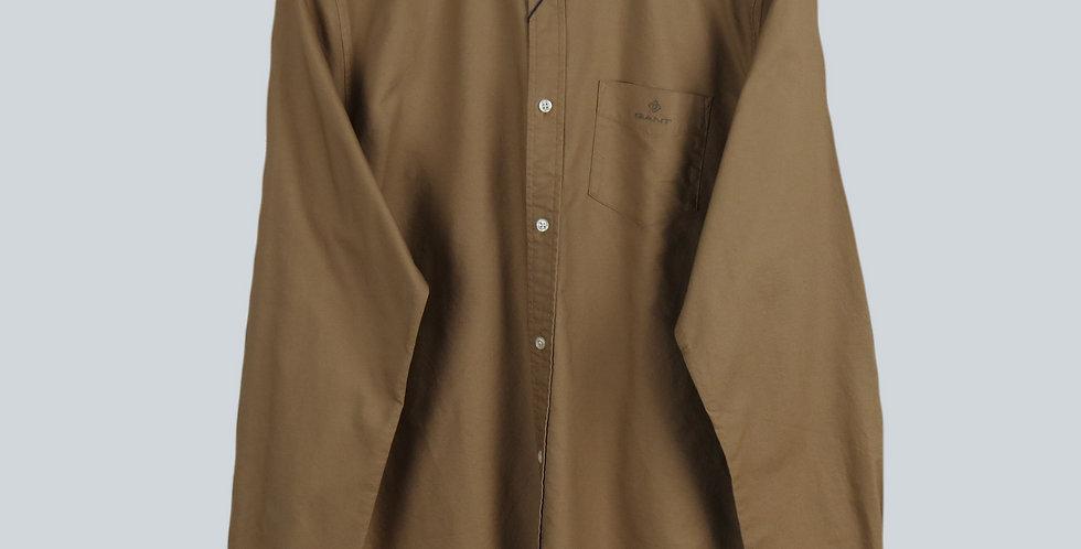 Gant The Beefy Oxford Shirt Khaki