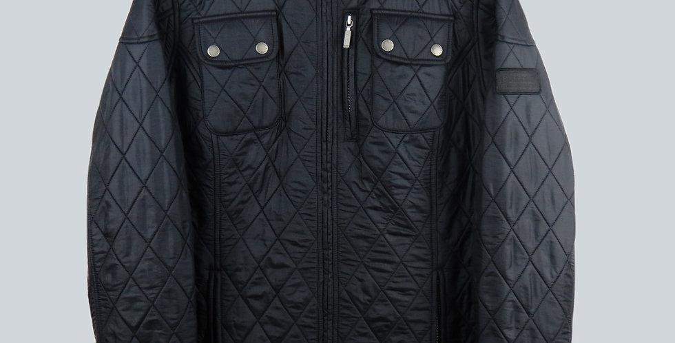 Barbour International Trials Quilt Black