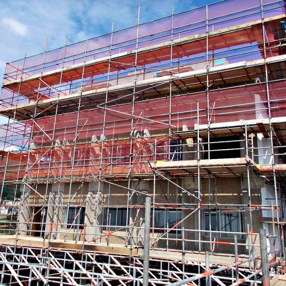 Aberavon House, Port Talbot for Hacer Developments and Apollo Scaffolding, 2017