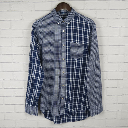 Gant Multi Panel Blue Check Shirt