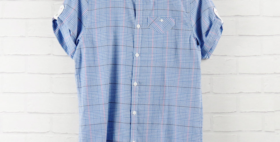 Luke Blue Check Shirt
