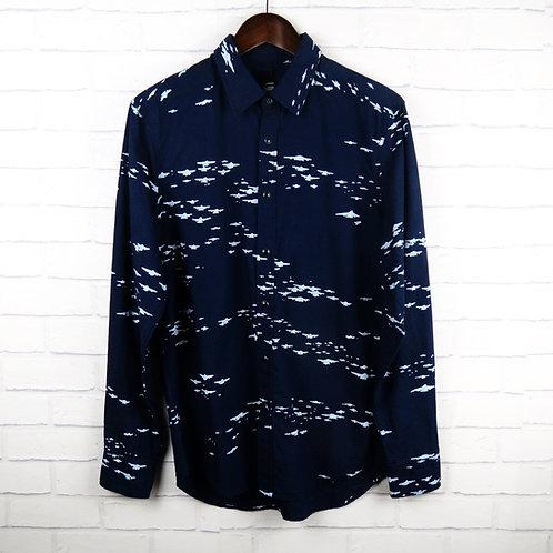 G-Star Raw Navy Pattern Shirt