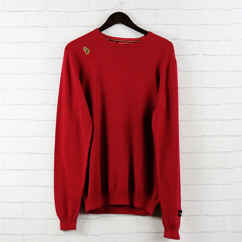 Luke 1977 Red Cotton Crew Knit