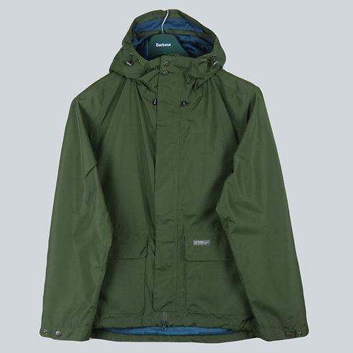 Barbour Foxtrot Waterproof Jacket Moss Green