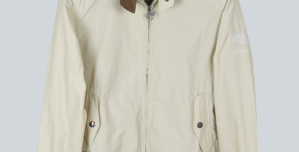 Barbour Steve McQueen Cream Rectifier Jacket