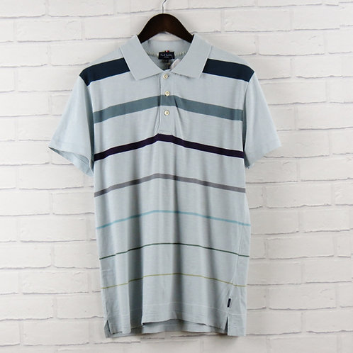 Paul Smith Sky Stripe Polo