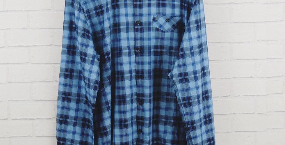 Luke Allday Blue Shirt