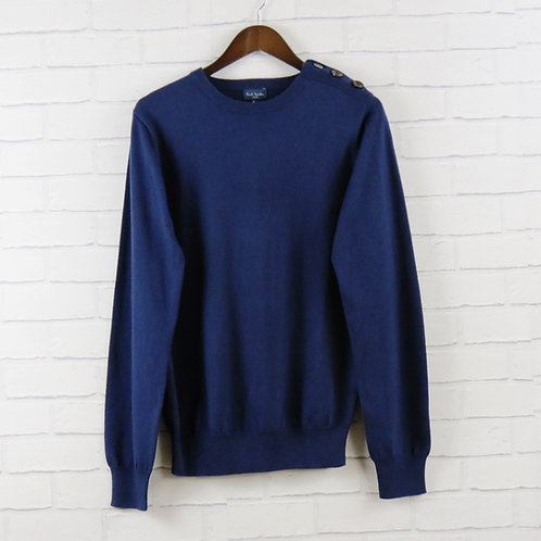 Paul Smith Navy Button Sweater