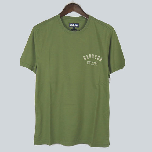 Barbour Preppy Khaki T-Shirt