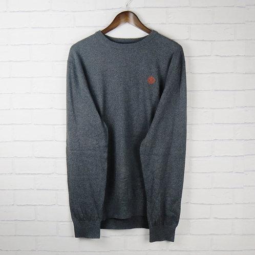 Henri Lloyd Grey Cotton Sweater