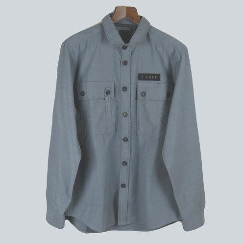 Luke 1977 Baggsy Overshirt Grey