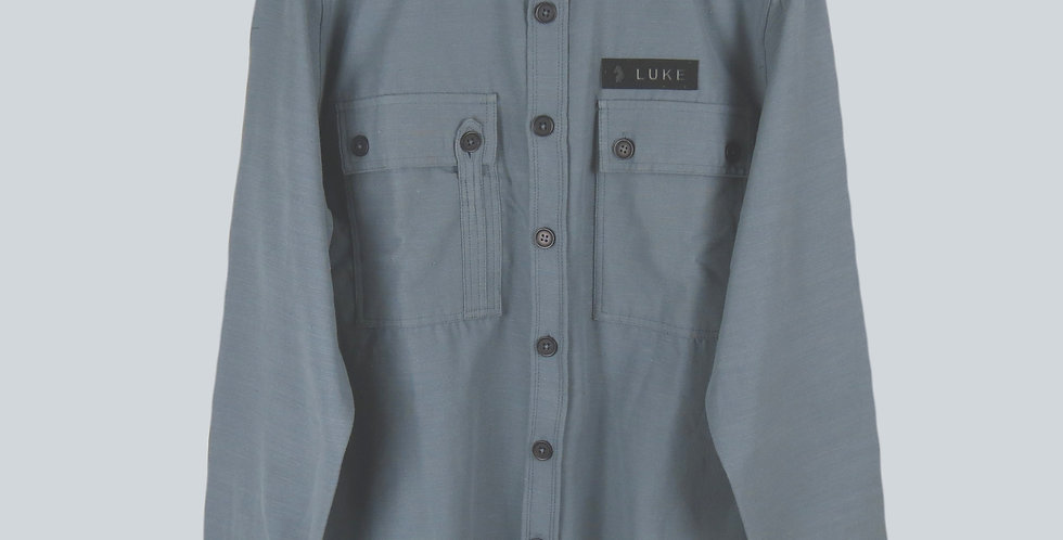 Luke 1977 Baggsy Overshirt Grey