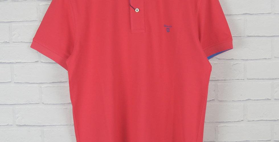 Gant Rugger Pink Pique SS Polo