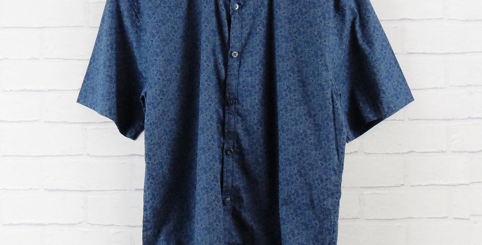 Luke Blue Floral Shirt