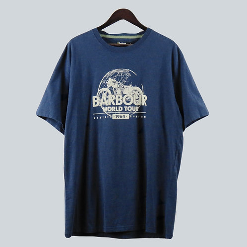 Barbour World T-Shirt Navy