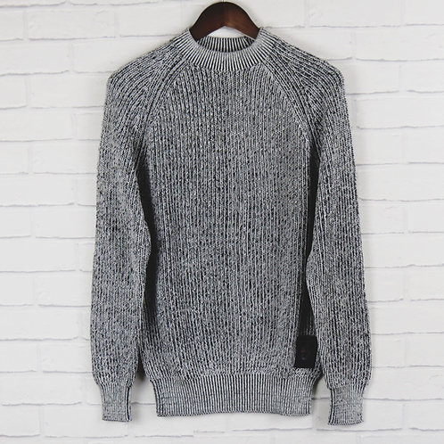 Luke 1977 Plated Black and Grey Sweater