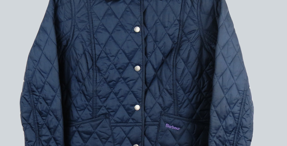 Barbour Liddlesdale Quilt Navy Ladies