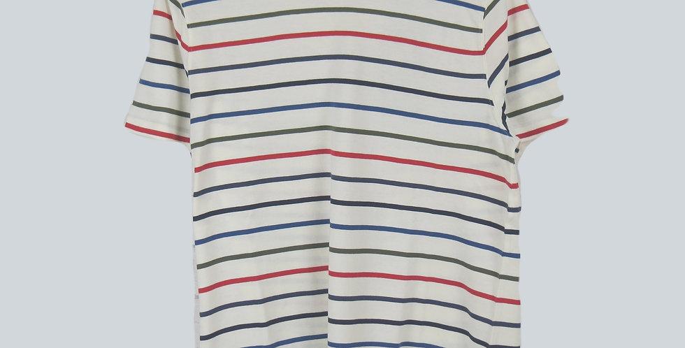 Barbour Steve Mc Queen Radial Natural T-Shirt