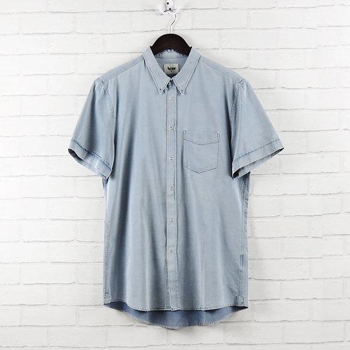 Acne Denim Short Sleeve Shirt