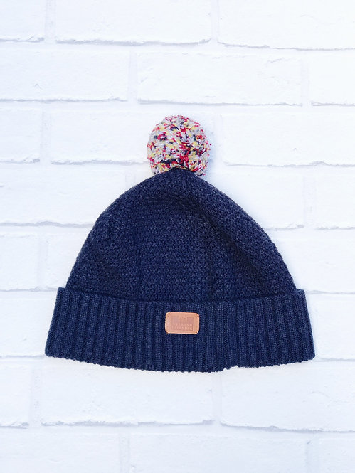 Weekend Offender Navy Bobble Hat