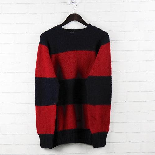 YMC Navy/Red Sweater