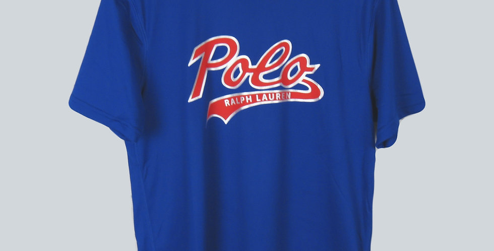 Polo Ralph Lauren Logo Performance T-Shirt Royal