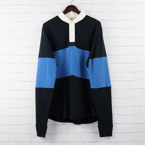 YMC Rugby Shirt Navy/Blue