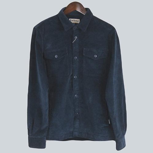 Barbour Cord Overshirt Navy