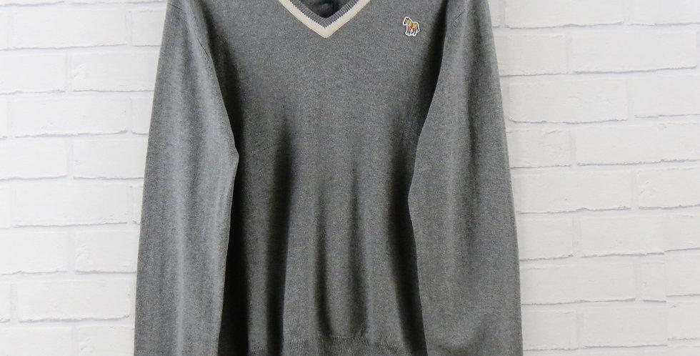 Paul Smith Grey Zebra Sweater