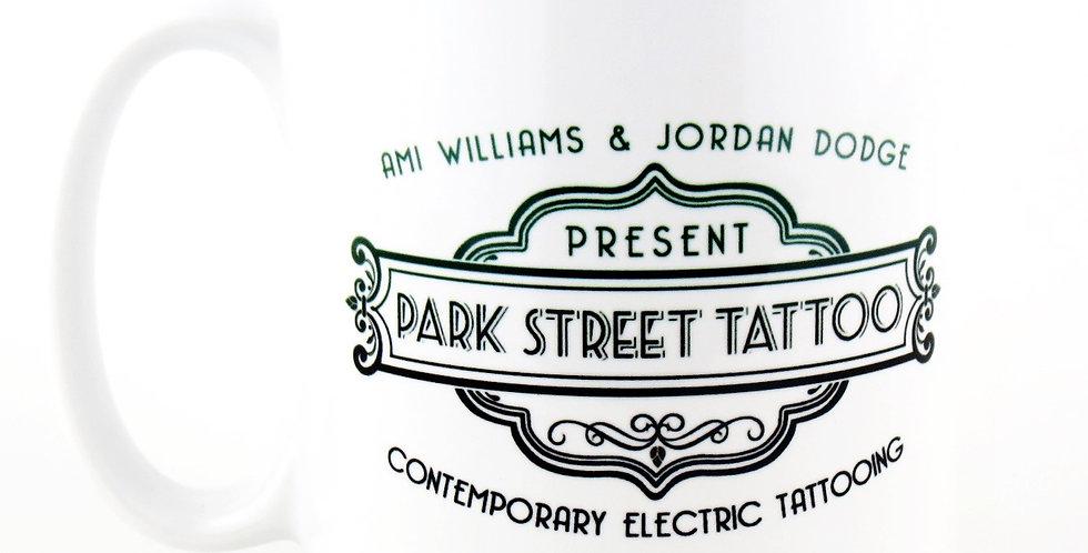 Park Street White Mug