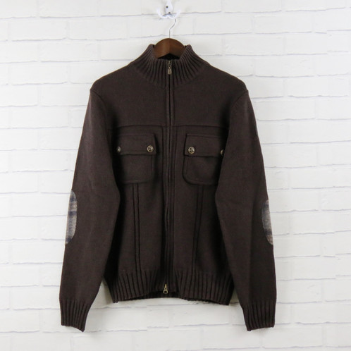 Belstaff Brown Cardigan | Moustache Clothing | Swansea