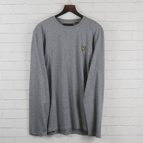 Lyle and Scott Grey Long Sleeve T-Shirt