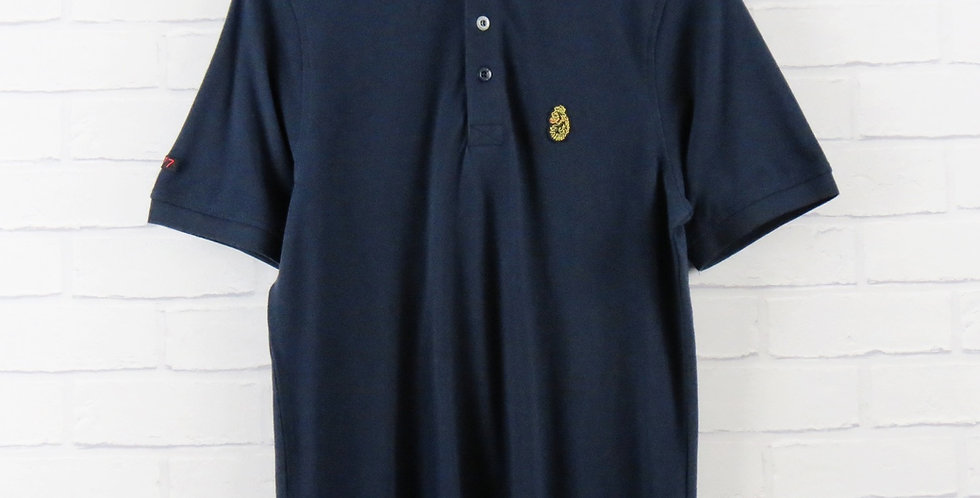 Luke 1977 Navy Classic Polo