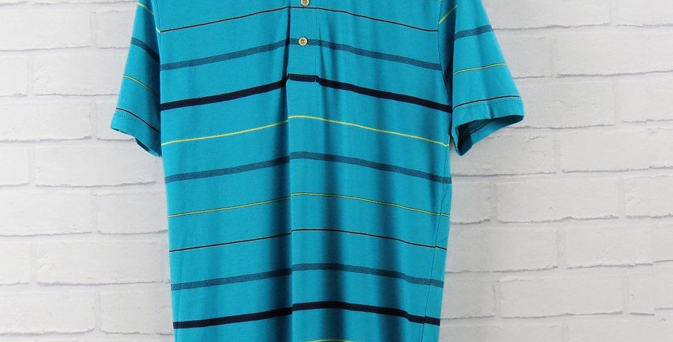 Paul Smith Aqua Stripe Polo