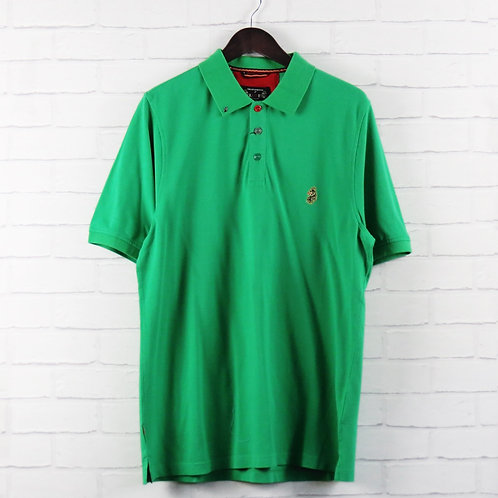 Luke 1977 Green Classic Polo