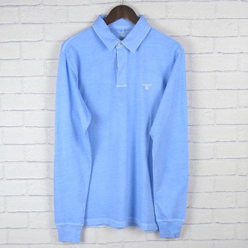 Gant Rugger Sky Blue LS Polo