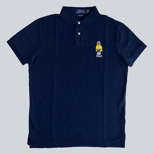 Polo Ralph Lauren Custom Slim Fit Polo Bear Polo Shirt