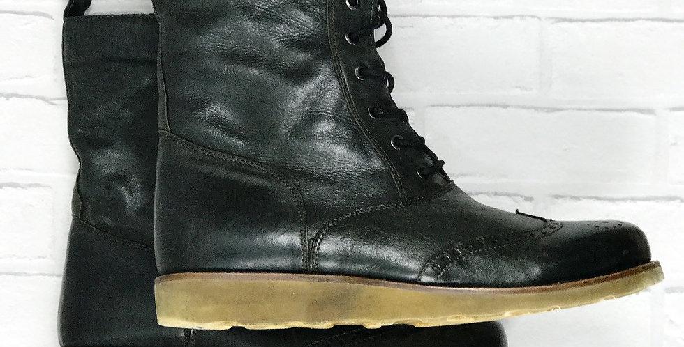 Belstaff Garrett Black Boots