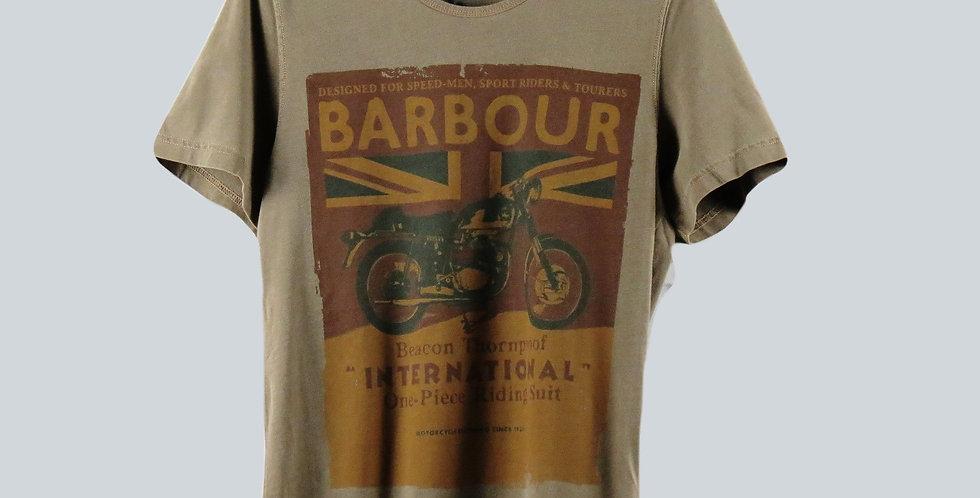 Barbour riding T-Shirt Khaki