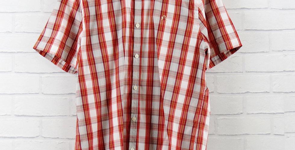 Baracuta Orange Shirt
