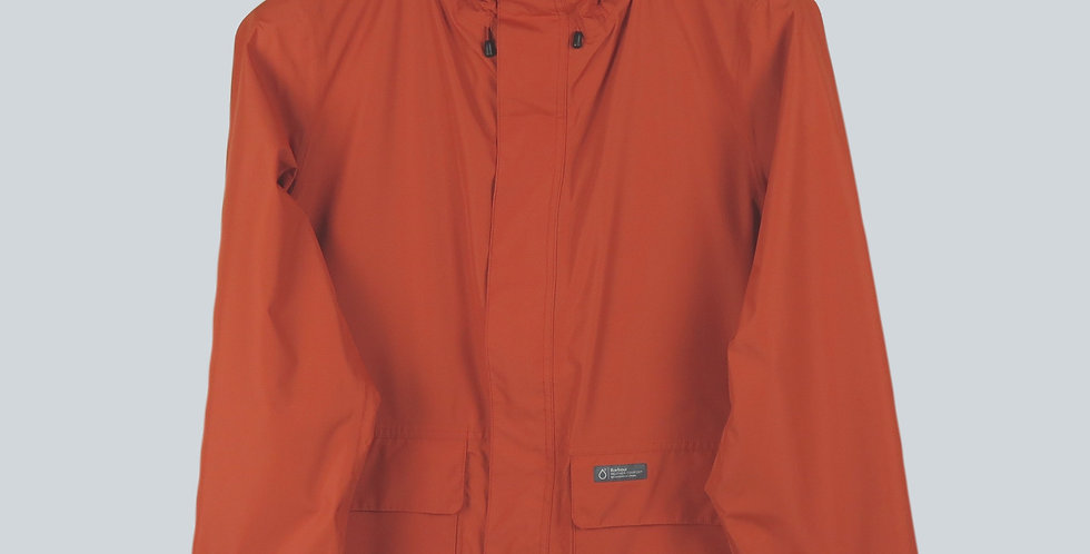 Barbour Foxtrot Waterproof Jacket Burnt Orange