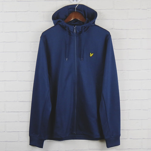 Lyle and Scott Hooded Top Navy
