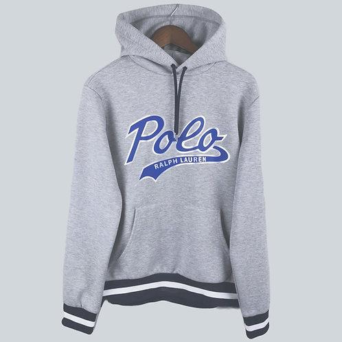 Polo Ralph Lauren Logo Performance Hoodie Grey