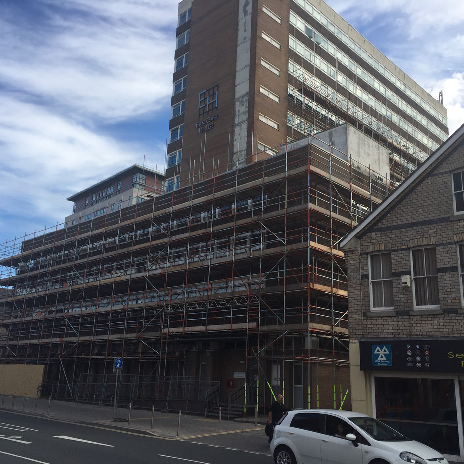 CPS Construction, Eastgate House, Cardiff  2017