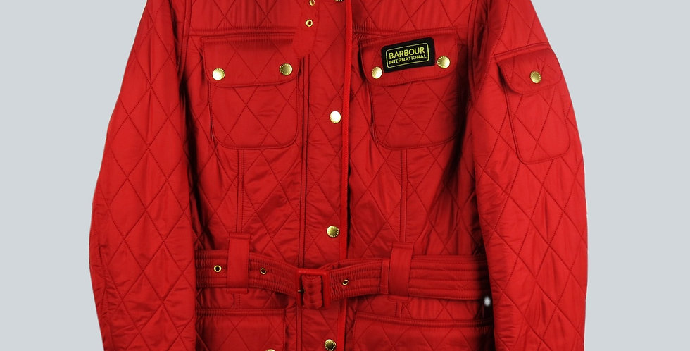 Barbour Int Polarquilt Red Ladies