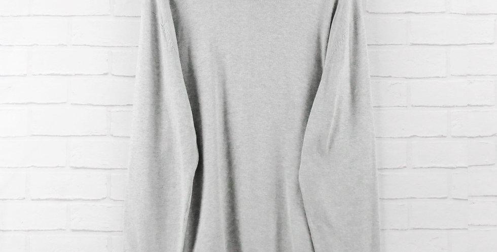 Luke 1977 Grey Cotton Crew Knit