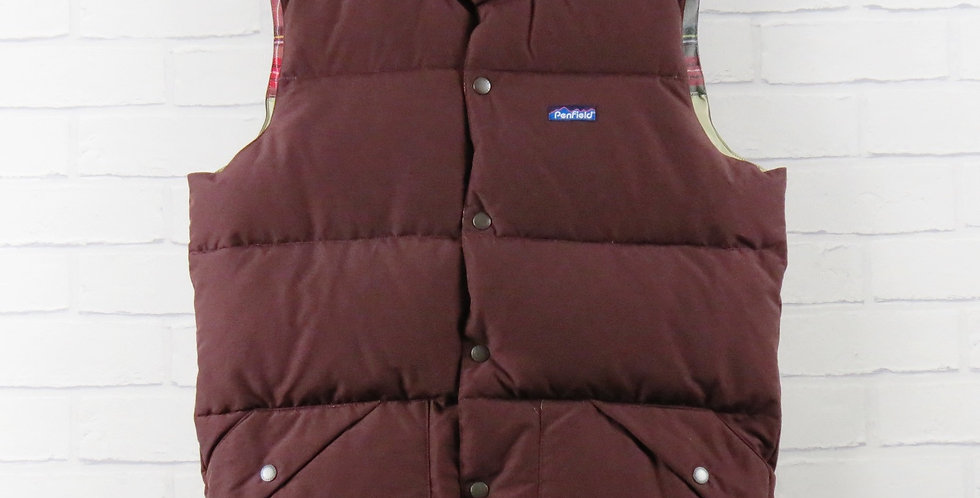 Penfield Outback Burgundy Gilet