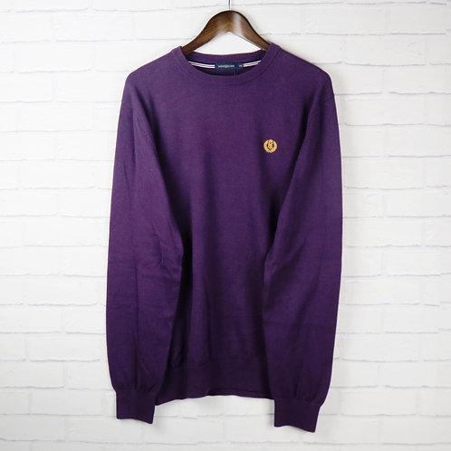 Henri Lloyd Purple Cotton Sweater