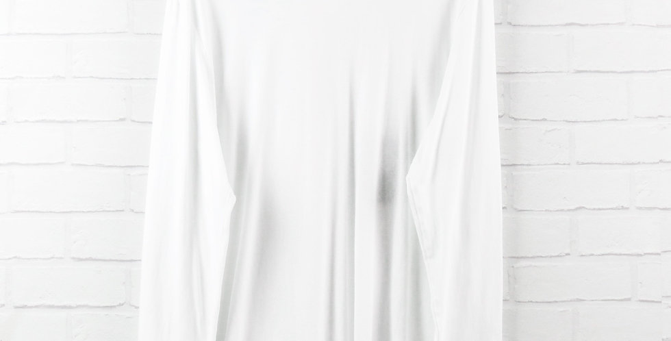 MA.STRUM White Classic Long Sleeve T-Shirt