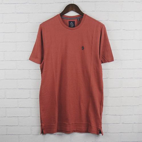Luke Cultraised Dusk Red T-Shirt